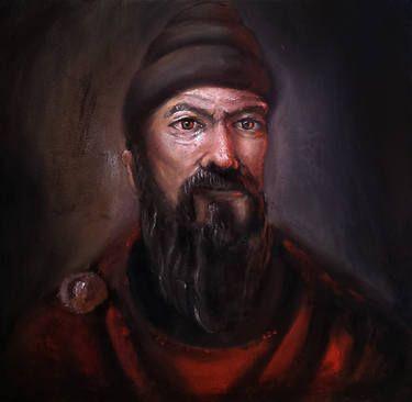 "Saatchi Art Artist Ovidiu Protopopescu; Painting, ""Burebista"" #art"