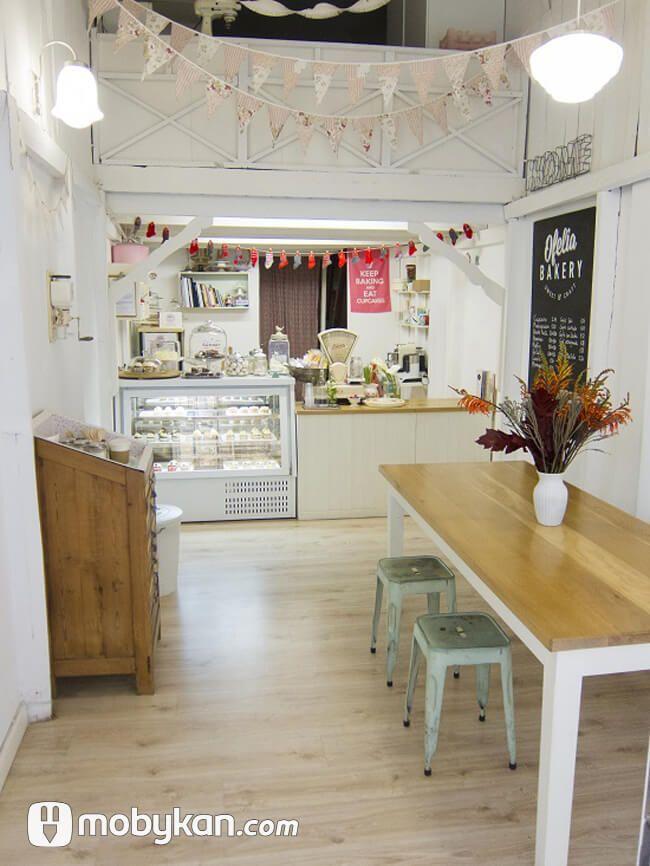 تصميمات ديكورات كافيهات مبتكرة تخطف الانظار Bakery Decor Bakery Interior Bakery Shop Design