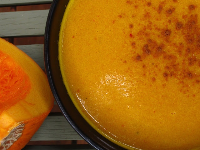 RAW Food for Truth: Pumpkin Curry Soup