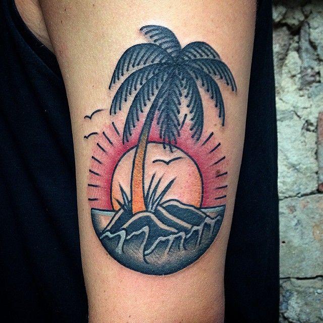 palm tree tattoo - Google zoeken