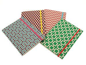 Pack Of Four Grafika Pocket Notebooks