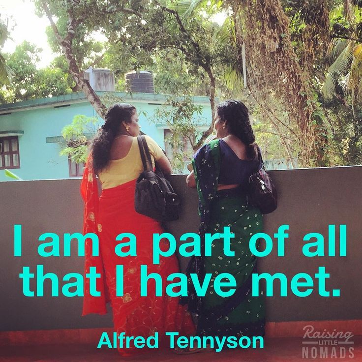 """In all of our travels I am thankful for the people we have met: a family I stayed with in Bolivia in my early 20's, my housemates in Manchester, our Indian family in Gujarat. They have changed me. The people are often the best thing about a place. """"I am a part of all that I have met."""" -Alfred Tennyson"""