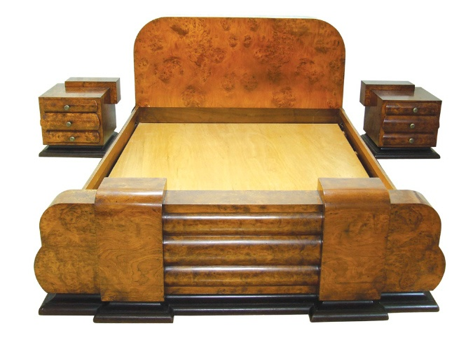 Art Deco Bedroom Furniture. Antique Rosewood Art Deco Vanity Desk ...