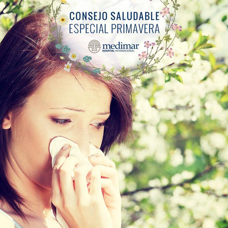 Más vale prevenir que curar, así que evita ir al campo en primavera si padeces alguna alergia ya que es época de polen y partículas del aire