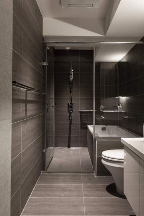 129 Unique and Beautiful Modern Shower Design Ideas