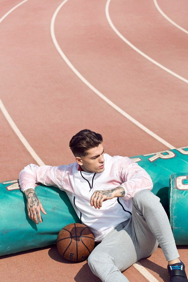 Stephen James for Men's Health Spain by Edu Garcia