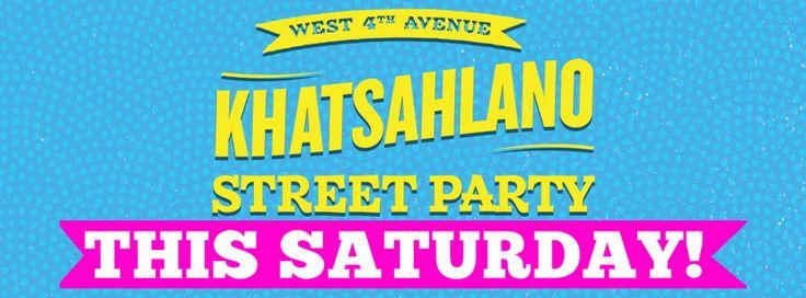 West 4th Ave Khatsahlano Street Party | Saturday, July 11