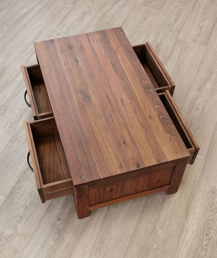 Oregon Coffee Table Walnut: Best 25+ Coffee Table With Drawers Ideas On Pinterest