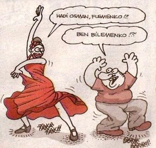 - Hadi Osman, Flemenko!!! + Ben bilememko!?! #karikatür #mizah