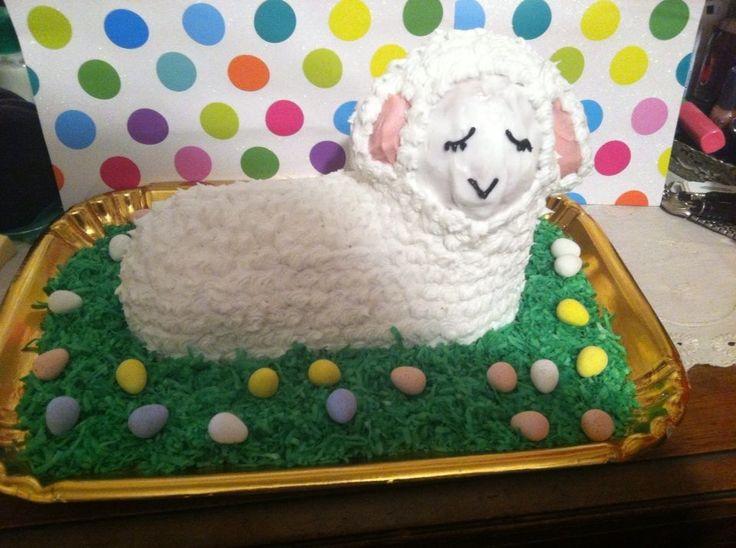 Easter lamb cake wilton cake mold lamb cake easter