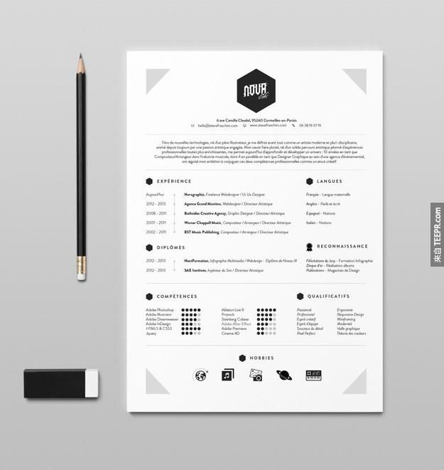 31 best RESUME images on Pinterest Cv template, Resume design and