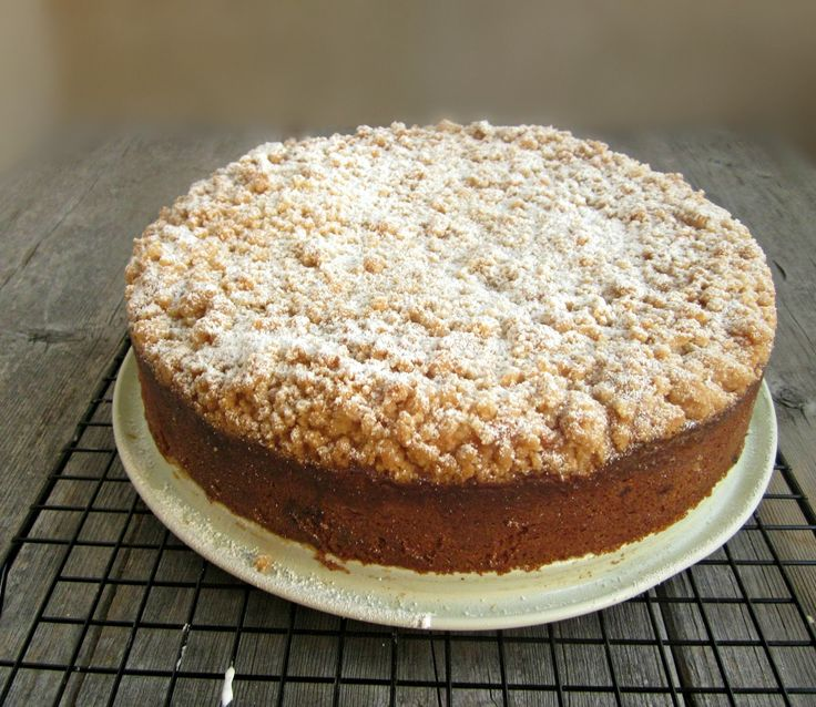 Hungry Couple: Blueberry Cheese Crumb Cake