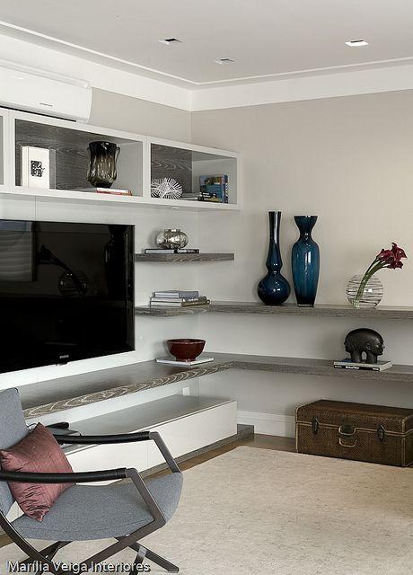 decoracao-de-interiores-apartamento-VNC-6 ♪ ♪ ... #inspiration #diy GB http://www.pinterest.com/gigibrazil/boards/