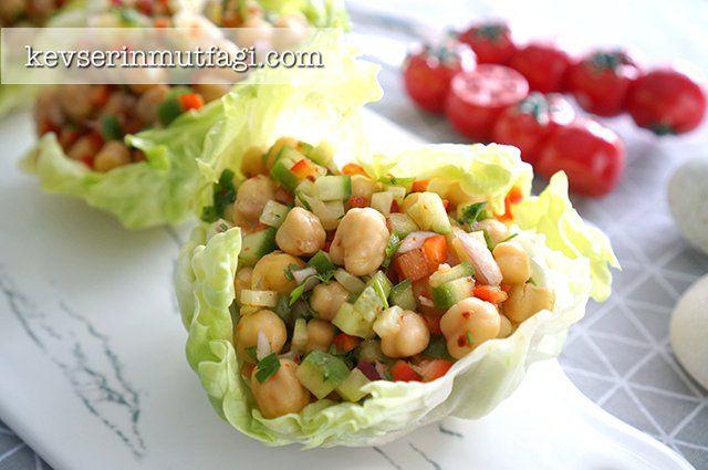 Soğanlı Nohut Salatası Tarifi | Kevserin Mutfağı - Yemek Tarifleri