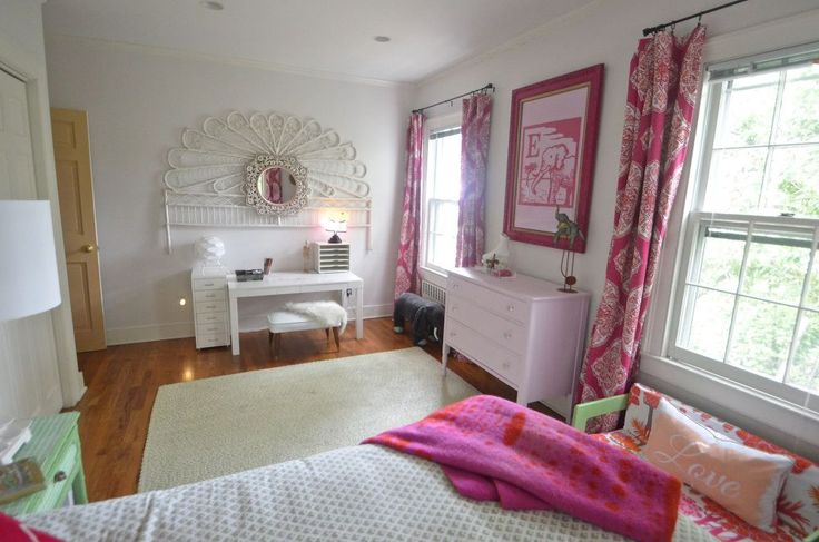 This Bright And Airy Bedroom Makeover Is Every Little Girl's Dream