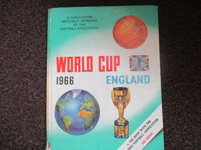 ENGLAND 1966 WORLD CUP Official FA Approved book PELE BOBBY CHARLTON GEOFF HURST    eBay