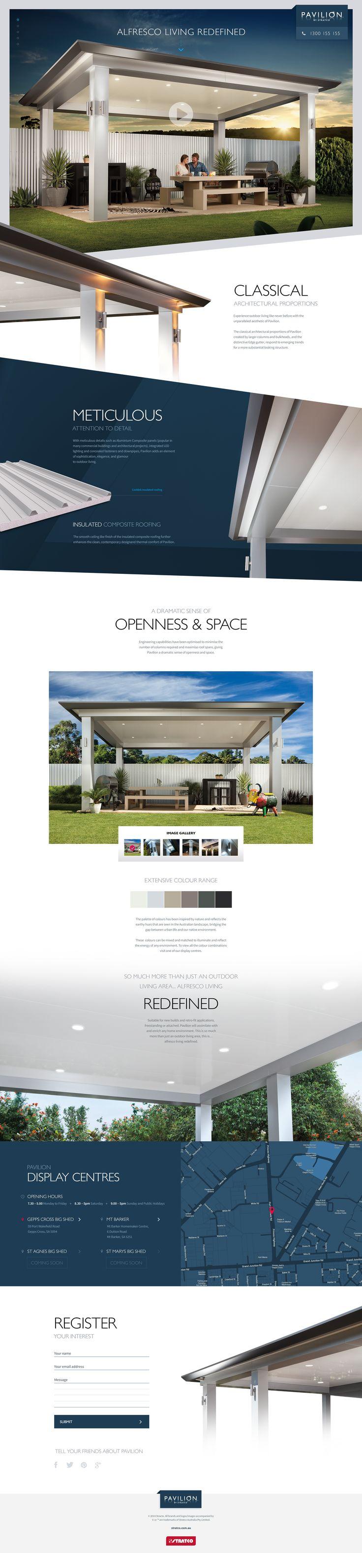 Pavilion Website #UI