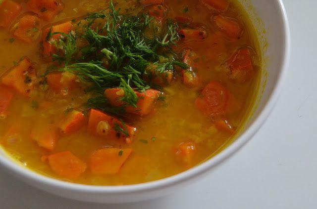 Mlsná máma : Dýňová polévka se zázvorem