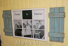 want to know what to do with an old window and some fence boards, carpentry  woodworking, diy home crafts, diy renovations projects, paintin...