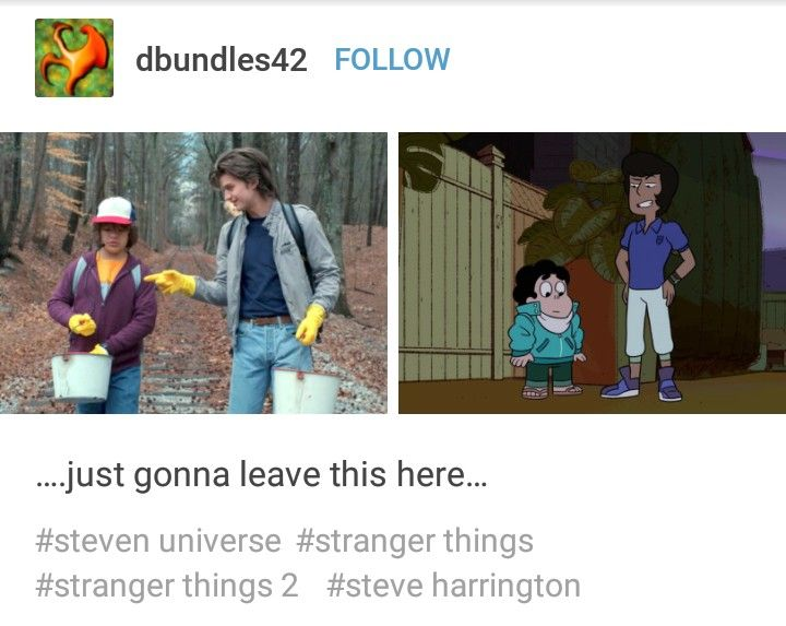 SO IM NOT THE ONLY ONE WHO SAW THIS minus the fact that kevin actually IS trash whereas steve is a wonderful mother