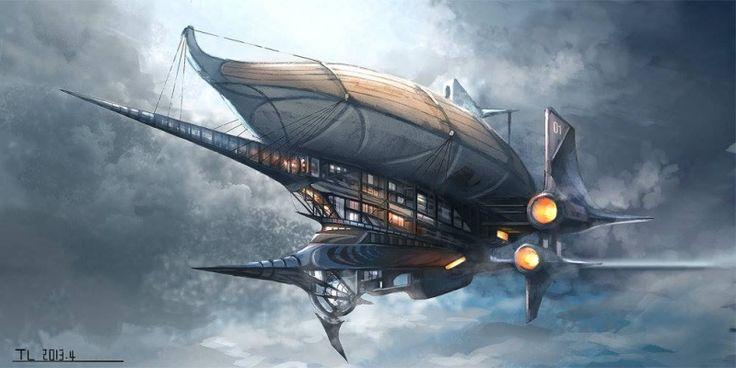 Airship par TerryLH