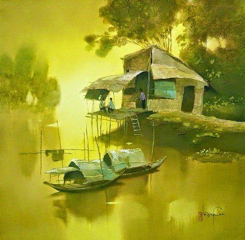 Dang Can, 1957 | Landscape/Figurative painter | Tutt'Art@ | Pittura * Scultura * Poesia * Musica |