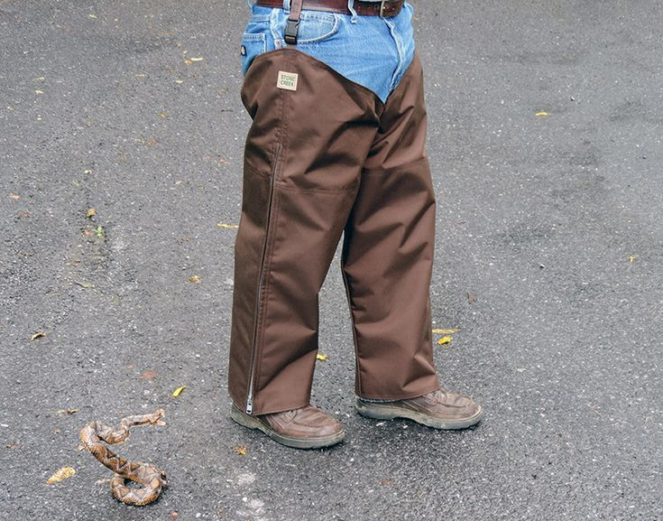 how to make snake chaps