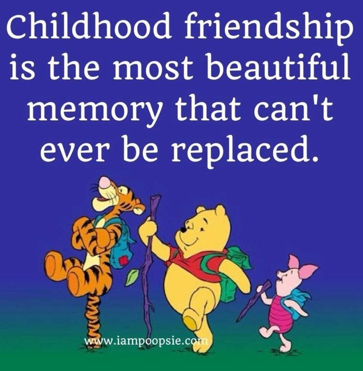 Friendship Quotes For Kindergarten : Childhood friendship quote via iampoopsie