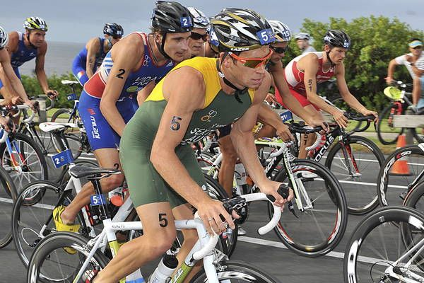 TICKET BOOKED: Maitland triathlete Brendan Sexton is likely to be named in Australia's Olympic   team this week.