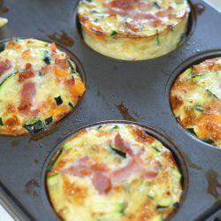 Grøntsags muffins med kylling | Sunde madpakker