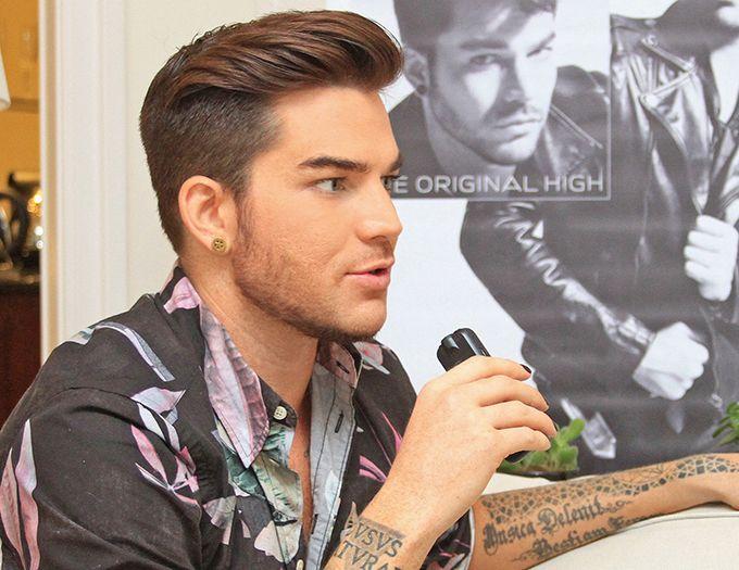 "Adam Lambert sings ""Another Lonely Night"" in the ""X-Factor Australia"" | POPLINE"