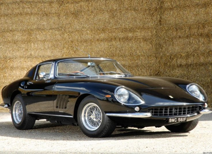 """13 Most Beautiful Cars Of All Time - Odometer.com.  1967 Ferrari 275 GTB The 1967 Ferrari 275 GTB was the first Ferrari ever introduced without wire wheels. It also placed seventh in Sports Car International's """"Top Sports Cars of the 1960s"""" list."""