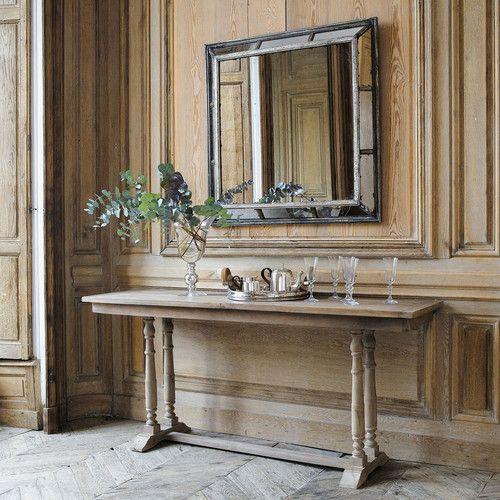 Espejo de metal con efecto envejecido. CONCERTO. Maisons du Monde.