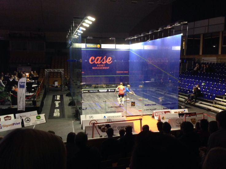 Nick Matthew - Tom Richards, Case Swedish Open 2014
