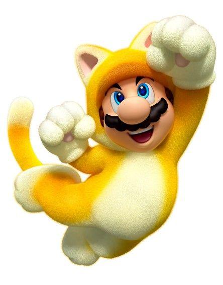 Mario got a new power-up: CAT MARIO