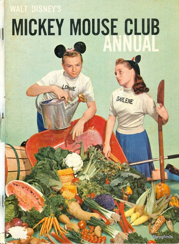 Walt Disney's Mickey Mouse Club Annual 1957 by FoxyGFinds on Etsy,