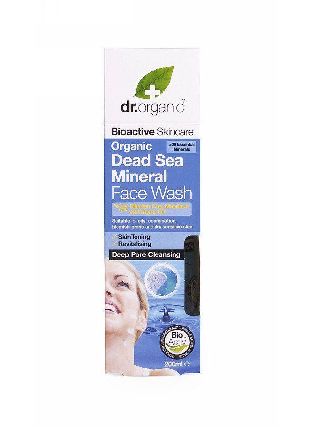 Dr Organic Dead Sea Minerals Deep Cleansing Face Wash | Organica