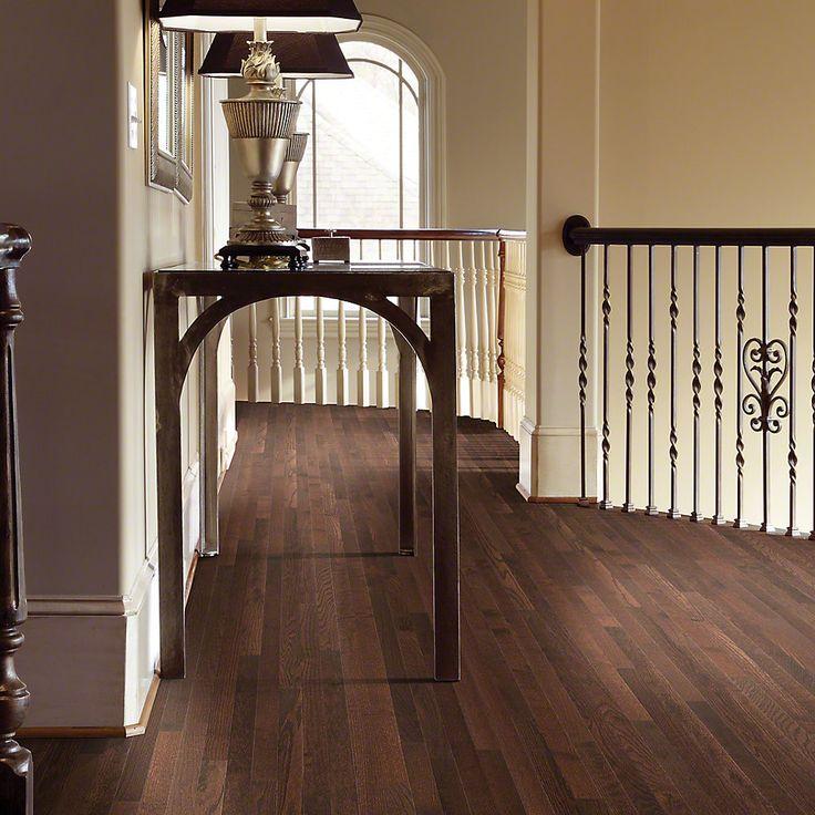 """Bellingham 2-1/4"""" Solid White Oak Hardwood Flooring in Coffee Bean"""