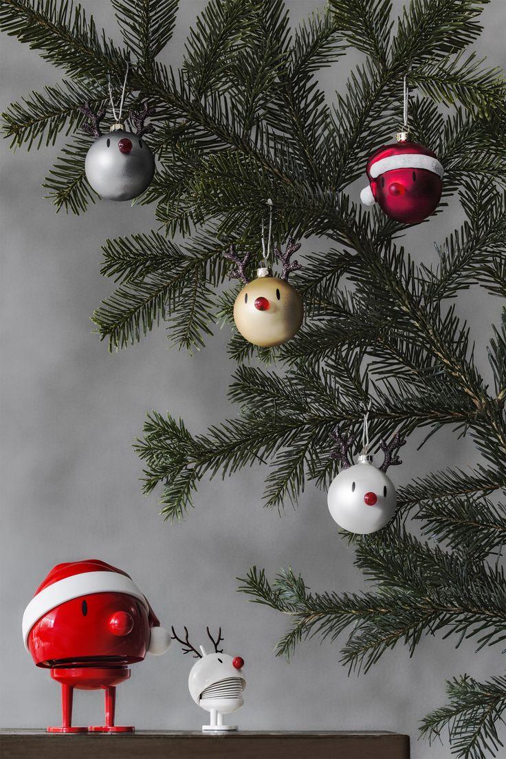 Christmas bulbs by Hoptimist