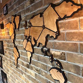 Metal world map - steel world map - world map - world map decor - wooden world map - wood world map - world map design - metal world map design - #worldmap #metalworldmap #fasion #decoration #interiordesign #wallart #metalwallart #metalwalldecor #worldmapdecor
