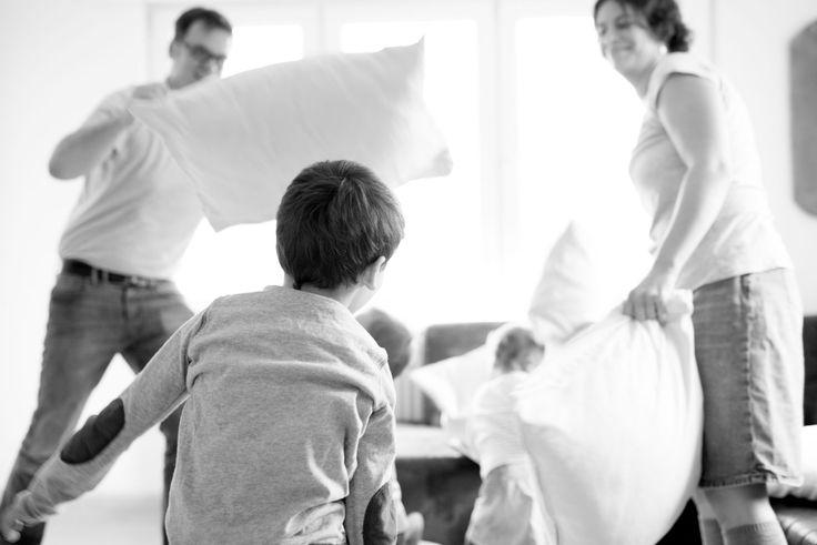 Lustiges Familien Fotoshooting in Stetten - Soulprint Fotodesign