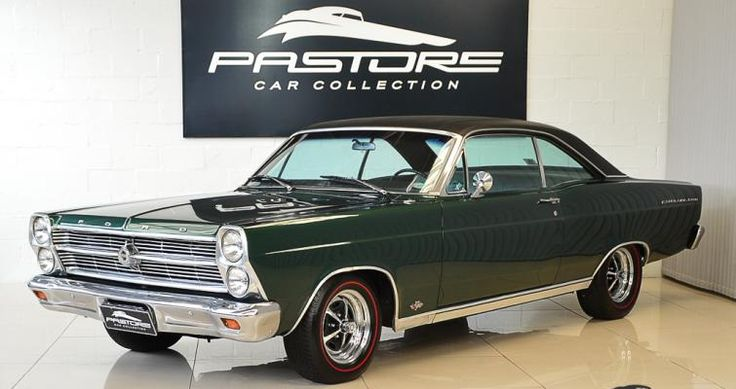 Classic Muscle Cars >> Ford Fairlane 500 1966 Ivy Green - Pastore Car Collection | Carros antigos e especiais / old and ...