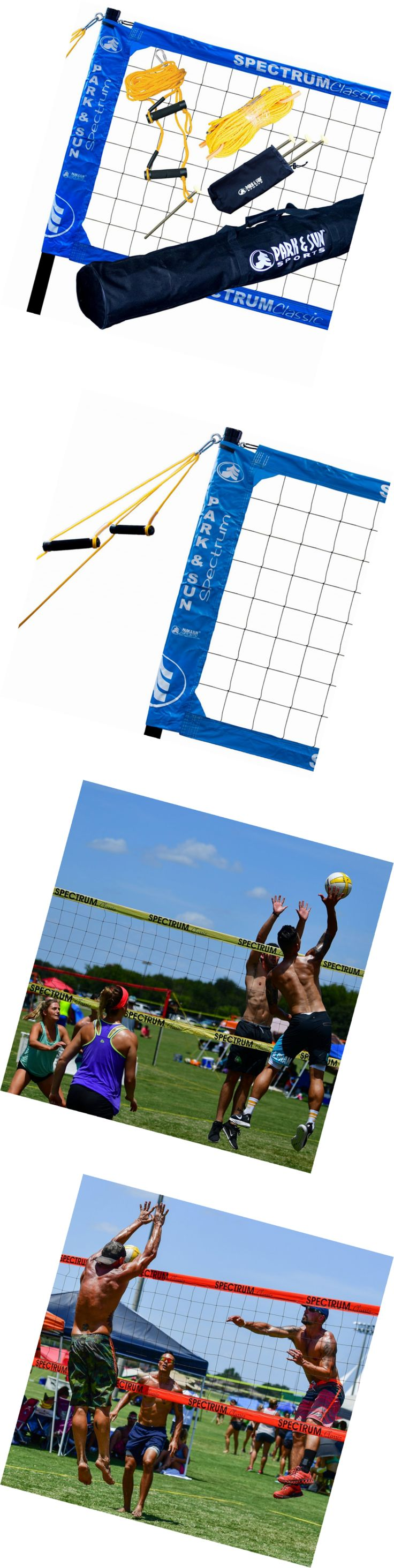 Nets 159131: Park And Sun Sports Spectrum Classic: Portable Professional Outdoor Volleyball Net -> BUY IT NOW ONLY: $298.4 on eBay!