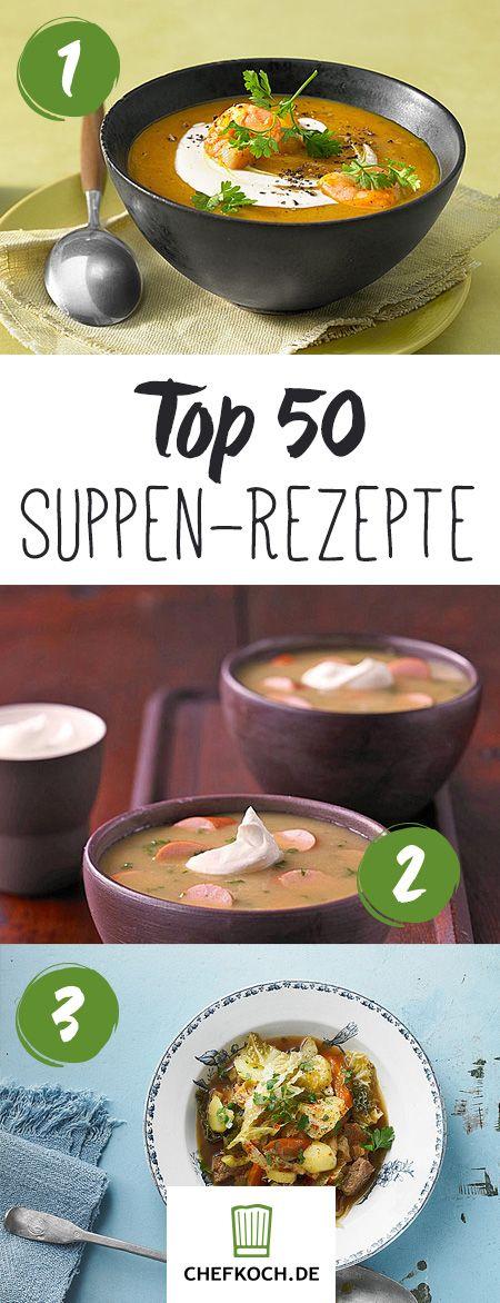 Suppenrezepte – Wärmende Suppen für Wintertage