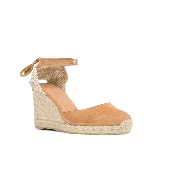 Castaner Carina 80 Wedges in Brown