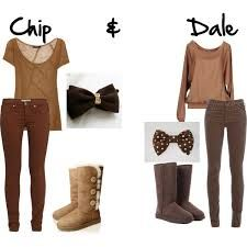 Image result for disney chip.and dale costumes
