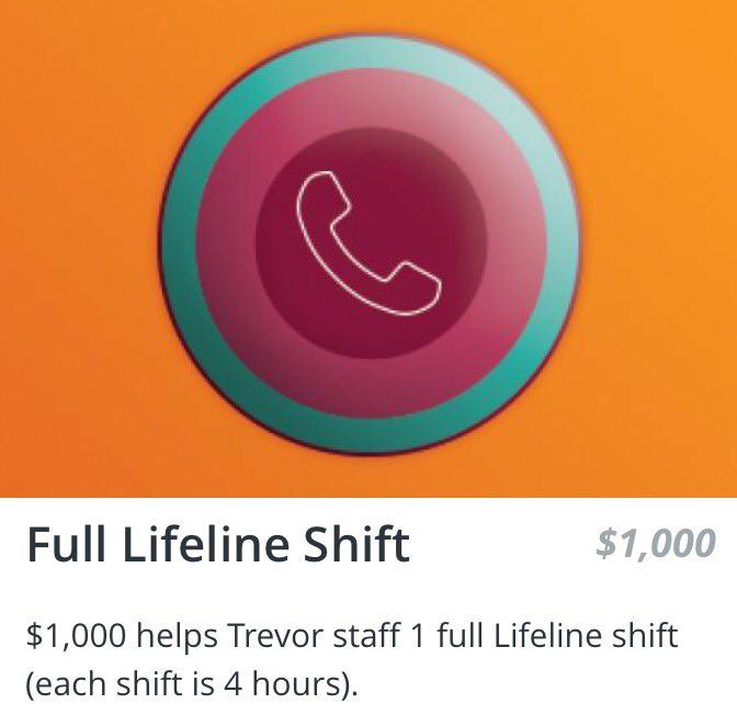 """Alon Bar on Twitter: """"Help @TrevorProject help #LGBTQ youth in crisis. Support my #GivingTuesday fundraiser. Finance one Lifeline shift.   https://t.co/cD92oDqYrs https://t.co/oi26h78RaW"""""""