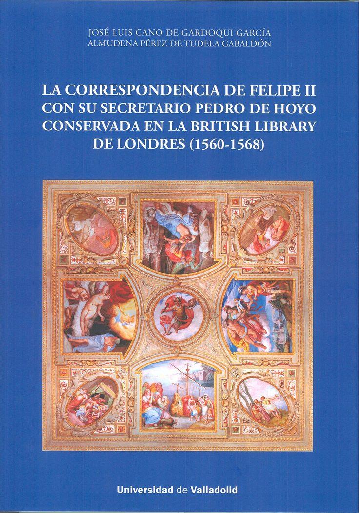 En este libro se transcriben las cartas intercambiadas entre Felipe II y Pedro de Hoyo, Secretario del Monarca en los asuntos concernientes a Obras y Bosques de la Cámara de Castilla, particularmente los relativos a los Reales Sitios, conservadas en la British Library de Londres y en la Hispanic Society of America de Nueva York, entre los años 1560 y 1568. +info: (pinchando foto se accede a la página de EdUVa) http://almena.uva.es/record=b1737970~S1*spi