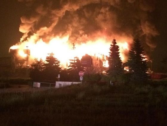 Update: Massive Fire At Windsor Raceway (Gallery)