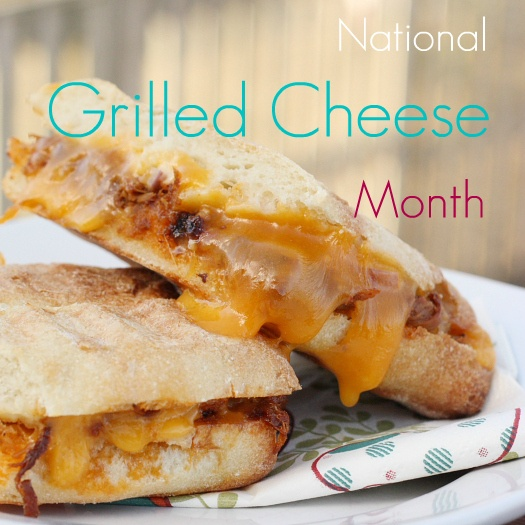 April is National Grilled Cheese Month ~ Mmm...is for Mommy